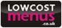 Low Cost Take Away and Restaurant Menus